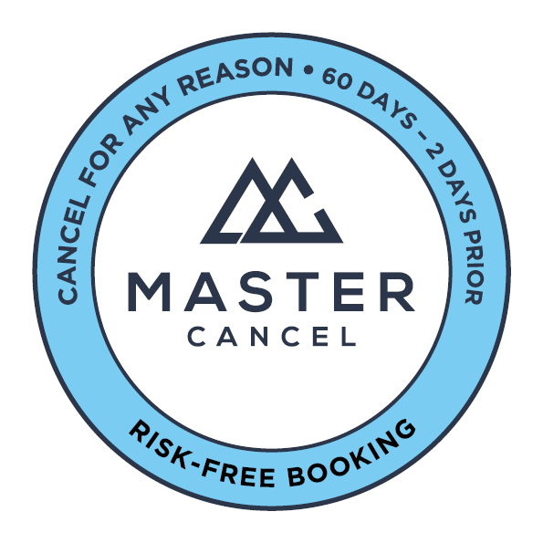 master cancel - risk free booking - logo